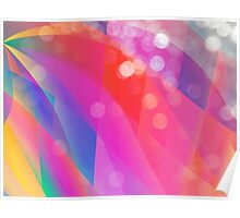 Rainbow Abstract Poster