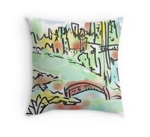 sydney harbour my way.... Throw Pillow