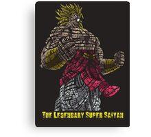 Broly - The Legendary Super Saiyan Canvas Print