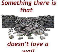 Mending Wall by Roger Swezey
