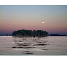 Moonlit Evening Photographic Print