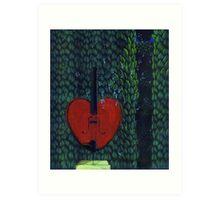 Base of My Heart No.2 (Sold) Art Print