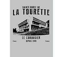 Le Corbusier La Tourette Architecture T shirt Photographic Print