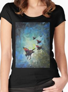 Flock Women's Fitted Scoop T-Shirt