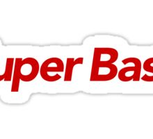 Super Bass Sticker