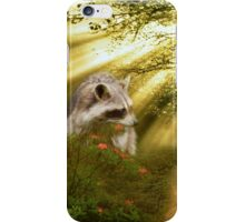 Racoon in the Forest iPhone Case/Skin