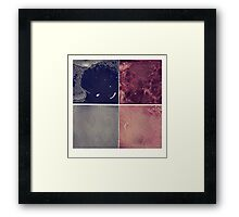 four in one - another one Framed Print