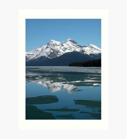 Lake Maligne Art Print