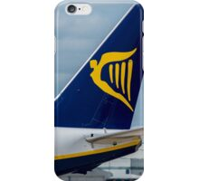 Ryanair Airlines Boeing 737 tail livery iPhone Case/Skin