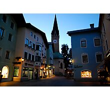 Kitzbuhel Evening Photographic Print