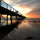Sunset at Semaphore by tarsia