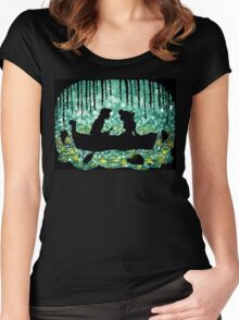 Kiss The Girl Women's Fitted Scoop T-Shirt