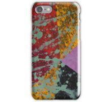 Corner Splatter # 9 iPhone Case/Skin