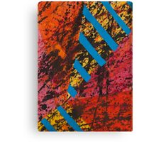 Corner Splatter # 8 Canvas Print