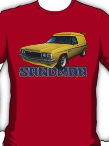 HZ Holden Sandman Panel Van - Yellow T-Shirt