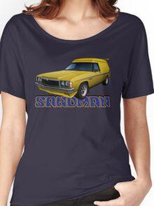 HZ Holden Sandman Panel Van - Yellow Women's Relaxed Fit T-Shirt