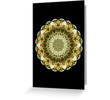 To the Center They Fly Greeting Card