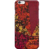 Corner Splatter # 7 iPhone Case/Skin