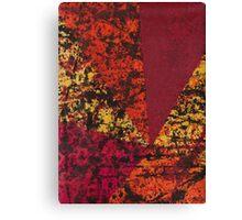 Corner Splatter # 7 Canvas Print