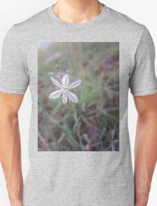 White field flower Unisex T-Shirt