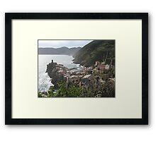 Vernazza, Le Cinque Terre Framed Print