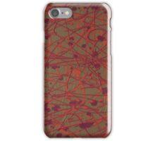 Lorne Splatter #7 iPhone Case/Skin