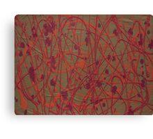 Lorne Splatter #7 Canvas Print