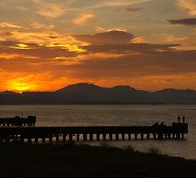 Clyde Sunset by Ian Johnston