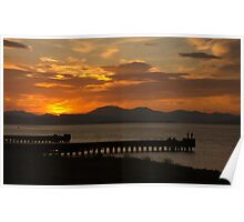 Clyde Sunset Poster