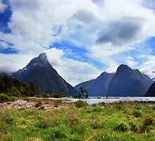 Mitre Peak and Milford Sound by Luke and Katie Thurlby