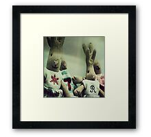 _ just something cute _ Framed Print