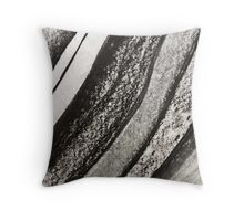 Ink & Charcoal #1 Throw Pillow