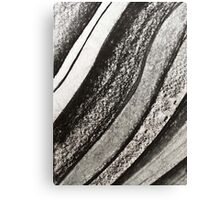 Ink & Charcoal #1 Canvas Print