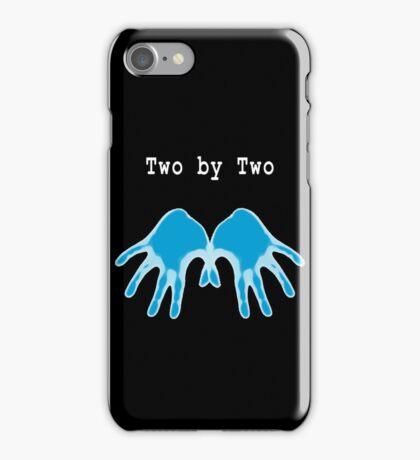 Hands of Blue (in Black) iPhone Case/Skin