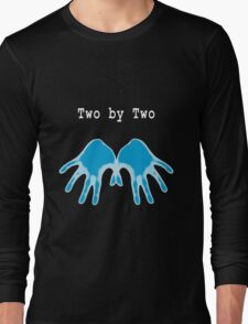 Hands of Blue (in Black) Long Sleeve T-Shirt