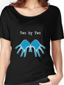 Hands of Blue (in Black) Women's Relaxed Fit T-Shirt