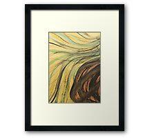 Ink & Charcoal #2 Framed Print