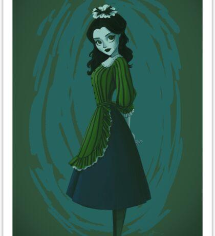 Morbid Maid Sticker