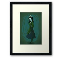 Morbid Maid Framed Print