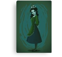 Morbid Maid Canvas Print