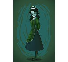 Morbid Maid Photographic Print