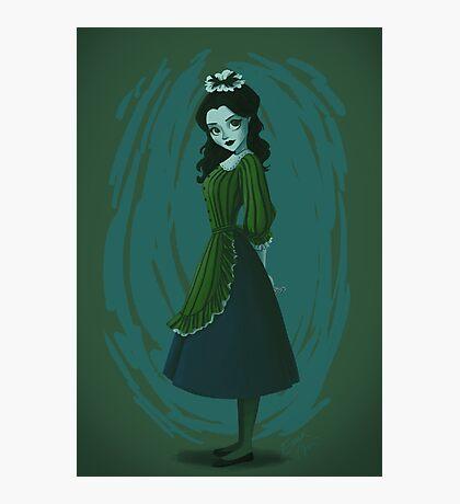Morbid Maid Photographic Print
