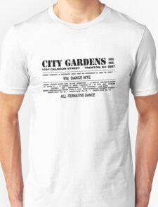 City Gardens - Punk Card Tee Shirt (v 1.0) T-Shirt