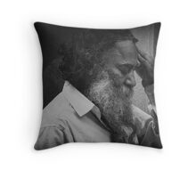 care in the community__voices Throw Pillow