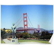 Golden Gate Bridge - San Francisco Poster