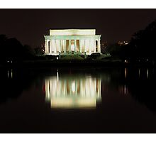 reflections of a memorial Photographic Print