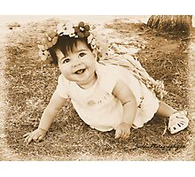 Flower Fairy At Play Photographic Print