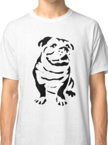cute puppy on lite Classic T-Shirt