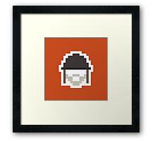 Retro Soldier Framed Print