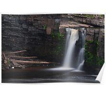 Manabezho Falls Detail Poster